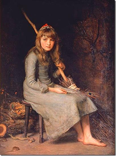 Cinderella de John Everett Milles