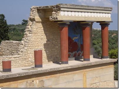 knossos - pałac