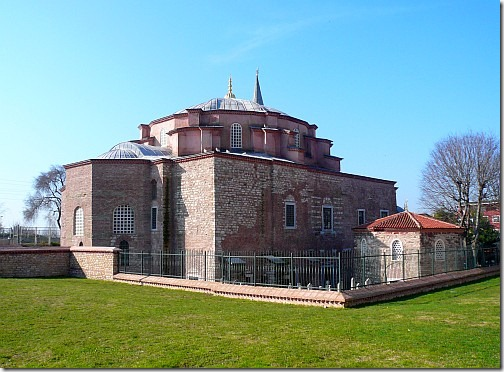 kościół sergiusza i bakchusa
