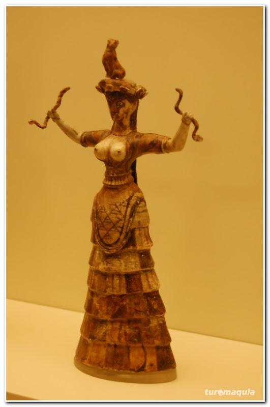 deusa minóica