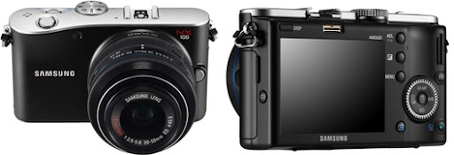 Samsung NX100 Mirrorless Latest Cameras with HD Video Recording