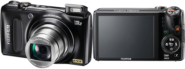 FujiFilm FinePix F300EXR Camera with 15x Zoom Long & Compact HD Video 720p