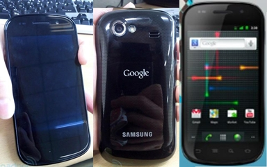 Google Will Appear Nexus S Hp So with Android 2.3 Android First Gingerbread?