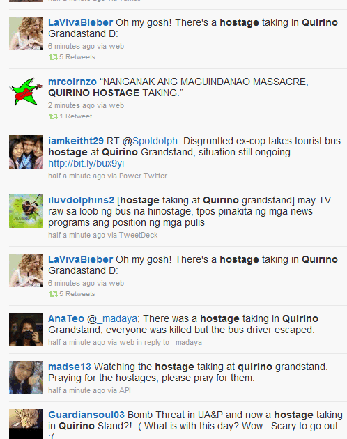 quirino grandstand hostage drama Posts about hostage taking written by   were the reasons why the hostage taking drama ended into a  the quirino grandstand fiasco is not the.