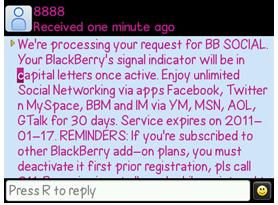 blackberry social