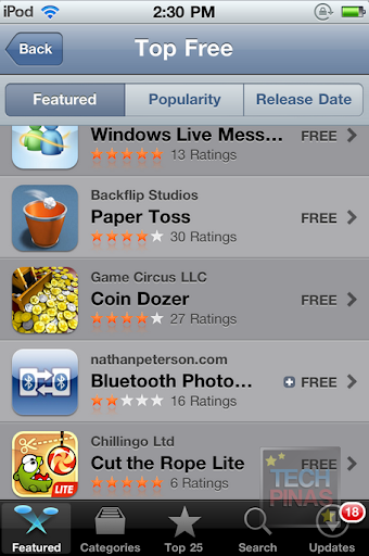 top free apps