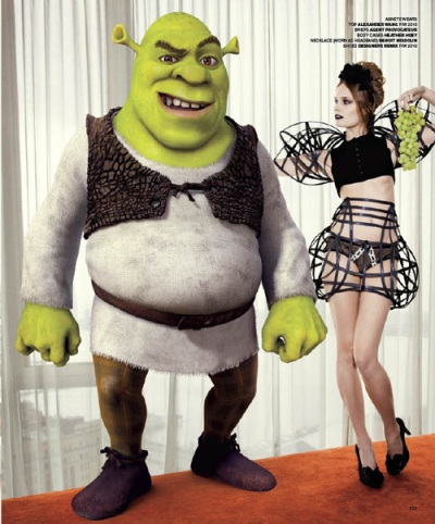 Shrek by Ellen Von Unwerth for VMAN 01 копия1 копия.jpg