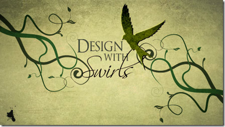 Design with Swirls and Flourishes