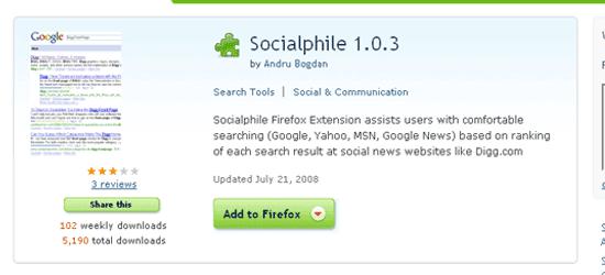 Socialphile