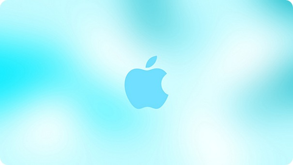 Apple Ice Wallpaper