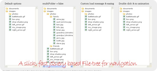 jQuery-based-File-tree-for-