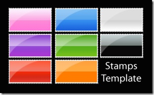 Stamps_Template___Aqua_Style_by_Laletizia