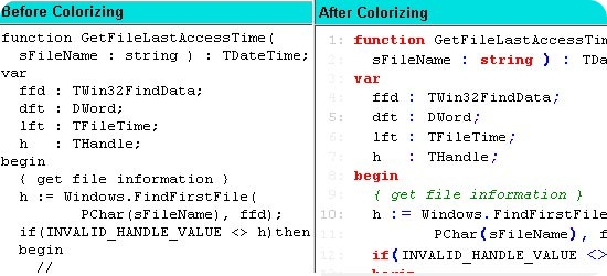 CodeColorizer-syntax-highli