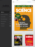 Screenshot of Pour la Science