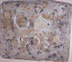 George Short plaque 1793
