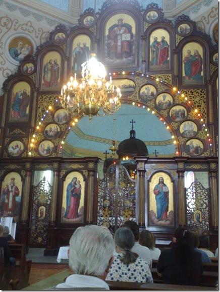 02. Iconóstase fechada antes da Liturgia II