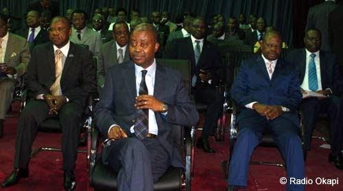 Adolphe Muzito à l'Assemblée nationale