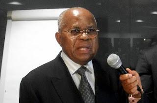 – Etienne Tshisekedi, président de l'UDPS à Bruxelles en 2010. Photo udps.be