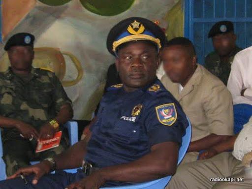 Le général John Numbi au procès Chebeya, le 27/01/2011.