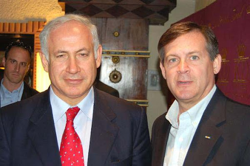 Benjamin Netanyahu and the author
