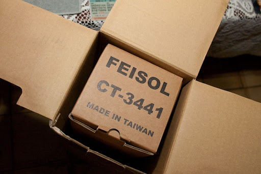 Feisol CT-3441S + CB-40D + CB-30C 簡易開箱