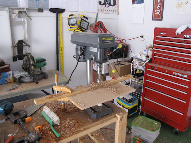 Slapdash Drill Press Table