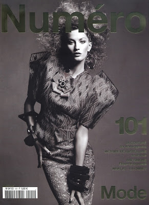 Gisele Bundchen for Numero 101 France  March 2009