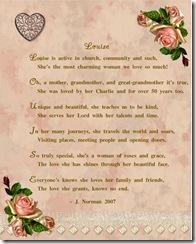 Louise poem