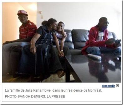 famille congolaise réunie