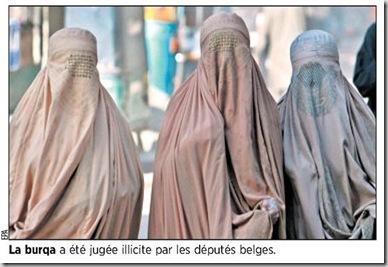 Belgique Burqa