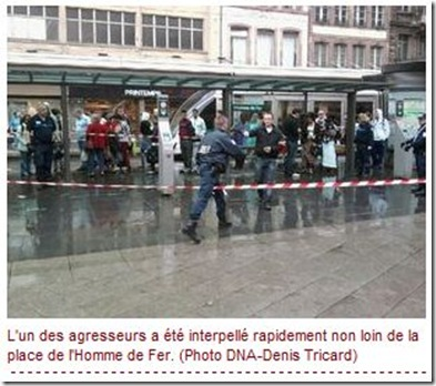 agression antisémite à Strasbourg
