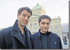 Après son entrevue avec Eveline Widmer-Schlumpf le 13 mars, le réalisateur Fernand Melgar gardait encore espoir. Aujourd'hui, il se sent piégé. BERNE, LE 13 MARS 2009