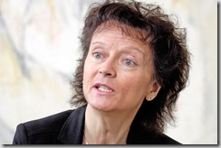 Pour Eveline Widmer-Schlumpf, ministre de la Justice, le contre-projet du Conseil fédéral à l'initiative de l'UDC «pour le renvoi des criminels étrangers», respecte la Constitution et le droit international. © FLORIAN CELLA