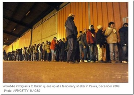immigrants calais