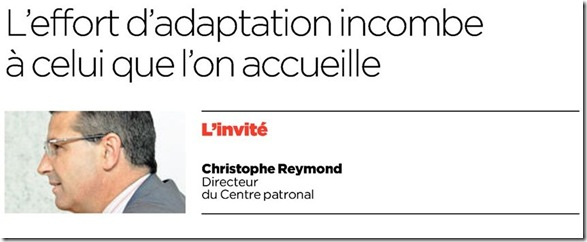 christophe reymond intégration