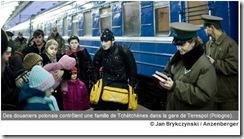 tchétchènes réfugiés terespol
