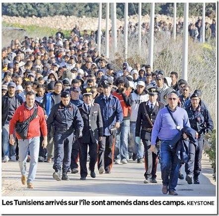 tunisiens lampedusa