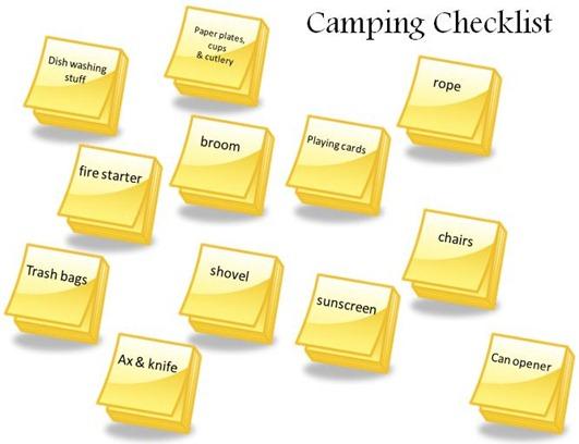 camping checklist (2)