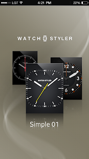 Watch Face Gear S - Simple - screenshot