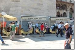 Turkia 2009 - Estambul  -Nueva Mezquita, Eminonu    245