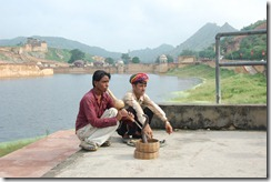 India 2010 -   Jaipur - Fuerte  Amber , 15 de septiembre   16