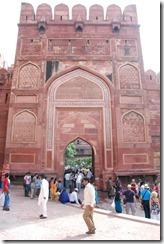 India 2010 - Agra - Fuerte Rojo , 17 de septiembre   12