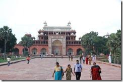 India 2010 - Agra -Sikandra, mausoleo de Akbar , 17 de septiembre   07