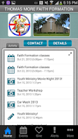Screenshot of Thomas More Faith Formation