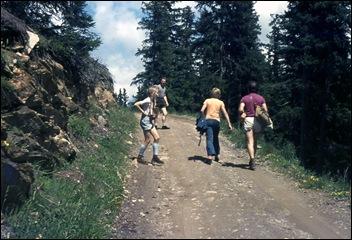pittige bergwandeling!