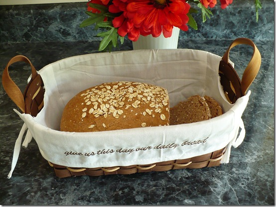 homemade oat bread