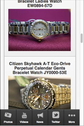 【免費生活App】Citizen Watches-APP點子