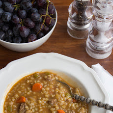 Easy And Hearty Beef Barley Soup