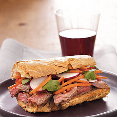 Banh Mi–Style Roast Beef Sandwiches