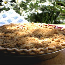 Crumble Berry Pie